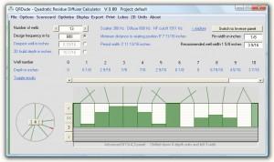 Room Acoustic Project 2011: Quadratic Residue Diffusorber