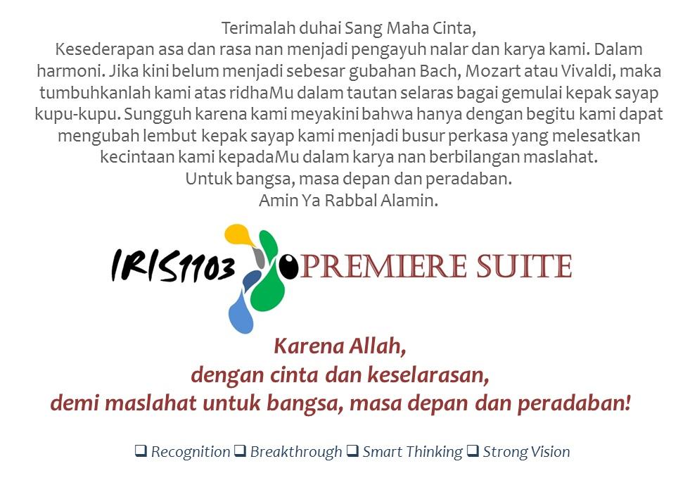 IRIS1103 Premiere Suite, Inilah Cinta…!!!